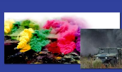 We specialize in colored smoke.